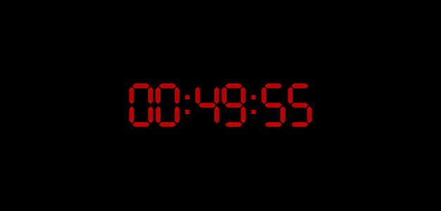 Il tempo sta per scadere!